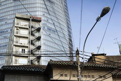 HO CHI MINH CITY - 4 DE FEBRERO: El edificio más alto de Ho Chi Minh City (Saigon) - torre financiera de Bitexco el 4 de febrero  Fotografía de archivo libre de regalías