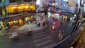 Ho Chi Minh-City, em março de 2014 timelapse filme