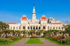 Free Ho Chi Minh City Hall Stock Photo - 143122820