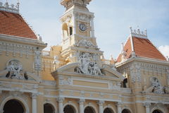 Ho Chi Minh City Hall arkivfoto