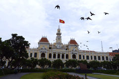 Ho chi minh city hall Stock Images