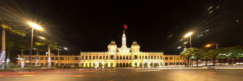 Ho Chi Minh City Hall, Vietnam Royalty-vrije Stock Fotografie