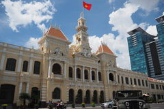 Ho chi minh city hall. In vietnam Stock Photo