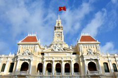 Ho Chi Minh City Hall, VietNam, 2016 Stock Photography