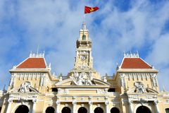 Ho Chi Minh City Hall, 2016 VietNam Stock Images