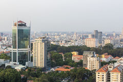 Ho Chi Minh city. Has the most dynamic economy in Vietnam Royalty Free Stock Photography