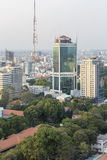 Ho Chi Minh city. Has the most dynamic economy in Vietnam Royalty Free Stock Photo