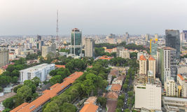 Ho Chi Minh city. Has the most dynamic economy in Vietnam Royalty Free Stock Image