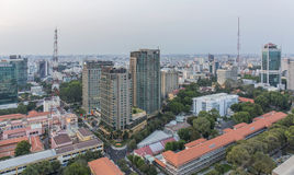 Ho Chi Minh city. Has the most dynamic economy in Vietnam Stock Image