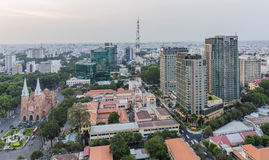 Ho Chi Minh city. Has the most dynamic economy in Vietnam Royalty Free Stock Photos
