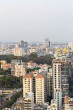 Ho Chi Minh city landscape. Ho Chi Minh City has the most dynamic economy in Vietnam Royalty Free Stock Photo