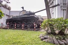 Ho Chi Minh City Museum gamla Saigon royaltyfria bilder