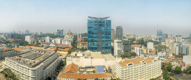Ho Chi Minh City Panoramic View, Vietnam Royalty Free Stock Photography
