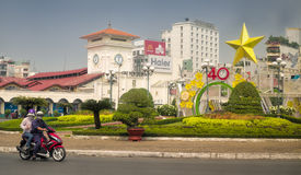 Ho Chi Minh City Park, Vietnam Lizenzfreie Stockfotos