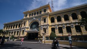 The Ho Chi Minh City Post Office stock video