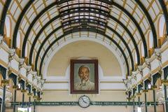 Ho Chi Minh City Postoffice stockbild