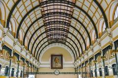Ho Chi Minh City Postoffice stockfotografie