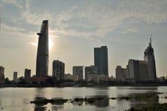 Ho Chi Minh City, Saigon downtown, Vietnam Royalty Free Stock Photo