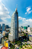 HO CHI MINH CITY (SAIGON) - JULY 03, 2014 - A sky scrapper in downtown. Stock Image