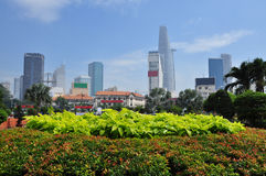 Ho Chi Minh city (Saigon) skyline, Vietnam Royalty Free Stock Photos