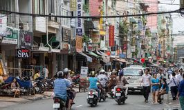 Ho Chi Minh City Saigon, Vietnam Royaltyfria Bilder