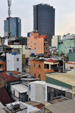 Ho Chi Minh city (Saigon), Vietnam. Skyline Royalty Free Stock Image
