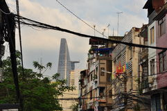 Ho Chi Minh city (Saigon), Vietnam. Skyline Royalty Free Stock Photography