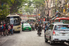 Ho Chi Minh City street Royalty Free Stock Photo
