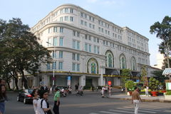 Ho Chi Minh city street scene Royalty Free Stock Photography