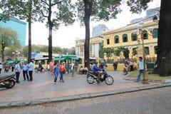 Ho Chi Minh City street view in Vietnam Royalty Free Stock Photos