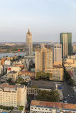Ho Chi Minh city in sunshine. Ho Chi Minh City has the most dynamic economy in Vietnam Royalty Free Stock Images