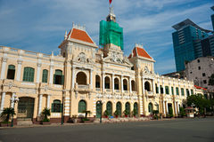 Ho Chi Minh City, Vietnam. People's Committee building in Ho Chi Minh City, Vietnam Stock Image