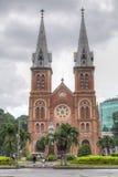 Ho Chi Minh City, Vietnam - circa August 2015: Saigon Notre-Dame Basilica in Ho Chi Minh City  (Saigon) Stock Photos