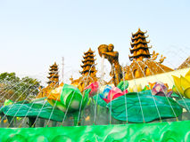 Ho Chi Minh City, Vietnam - 10. Februar 2011: aquapark Verdammungs-Senator Lizenzfreie Stockfotografie