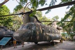Ho Chi Minh City, Vietnam - 27 Januari 2015: CH-47 Chinook bij Oorlog aangaande royalty-vrije stock afbeelding