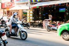 Ho Chi Minh City, Vietnam, 12,26,2017 junge vietnamesische Paare Stockfotografie