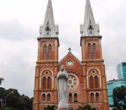 Ho Chi Minh City Vietnam Landschappen van de stad, godsdienstige tempels, illustraties van Vietnamees art. royalty-vrije stock foto's