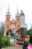 26 12 2017 Ho Chi Minh City, Vietnam, Notre-Dame-Kathedrale Saigo Stockfoto