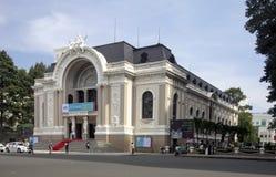 HO CHI MINH CITY VIETNAM-NOV 3RD: Operahuset på November 3r Arkivfoto
