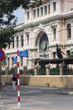 HO CHI MINH CITY,VIETNAM-NOV 4TH: People walking past the Centra Stock Photography