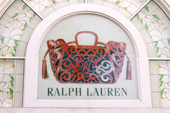 HO CHI MINH CITY, VIETNAM-OCTOBER 31ST 2013: Ralph Lauren store Stock Photography