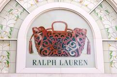 HO CHI MINH CITY, VIETNAM-OCTOBER 31ST 2013: Ralph Lauren store Stock Photography