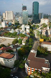 Ho Chi Minh city, vietnam,overview on day Stock Photos