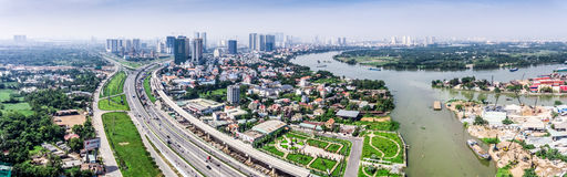 Ho Chi Minh City Vietnam Saigon stockfoto