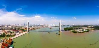 Ho Chi Minh City Vietnam Saigon stockbilder