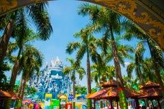 HO CHI MINH CITY, VIETNAM, the Suoi Tien park in Saigon. Royalty Free Stock Photos