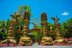 HO CHI MINH CITY, VIETNAM, the Suoi Tien park in Saigon. Stock Images
