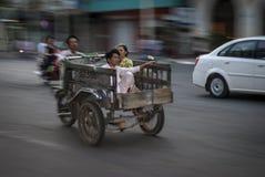 HO CHI MINH CITY /VIETNAM - 18TH för familjhastighet för MARS vietnamesiskt PA Royaltyfri Fotografi