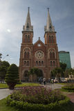 HO CHI MINH CITY/VIETNAM - 18TH MARCH 2007 - Notre Dame cathedra Royalty Free Stock Image