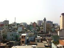 Ho chi minh. City in vietnam. Urban sprawl. Megacity Stock Photos